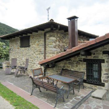 casa 5)terraza casa rural un dormitorio 5