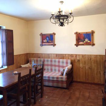 casa 7) cocina comedor casa rural 3 dormitoios