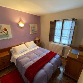 Dormitorio principal casa rural 7