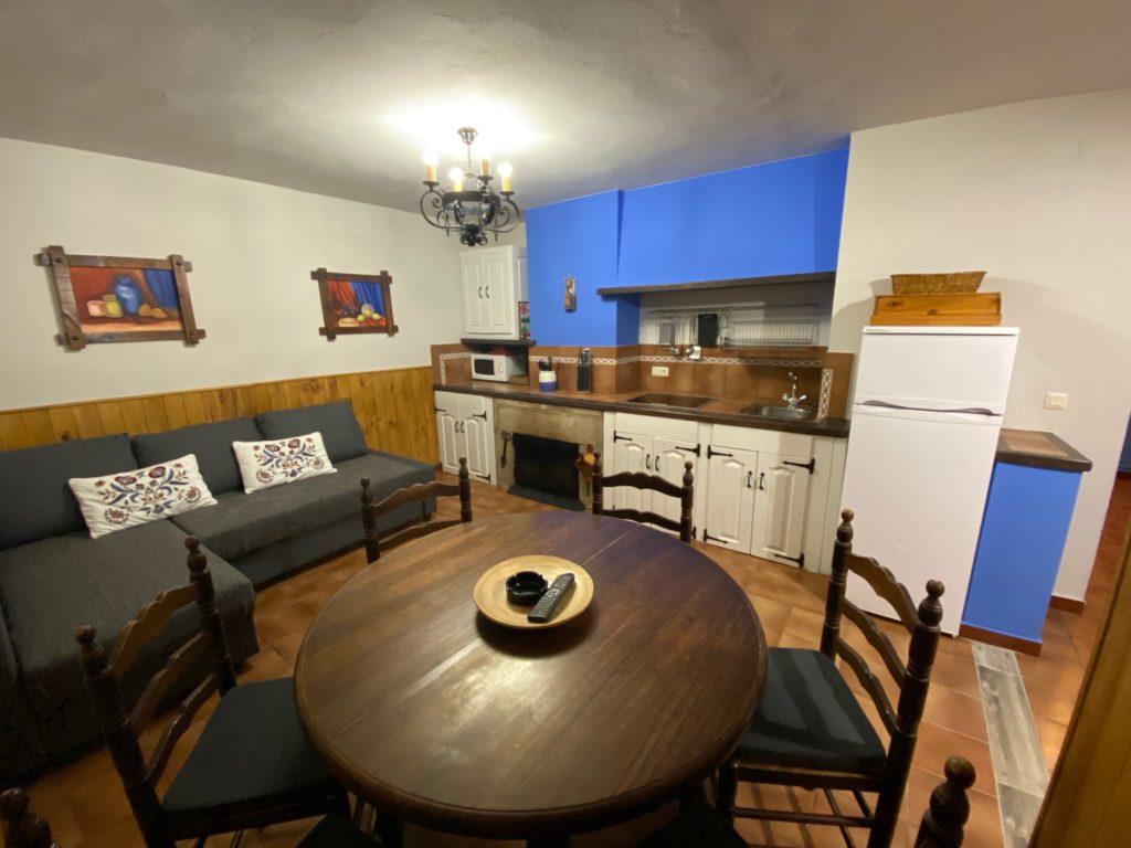 Küche und Esszimmer Haus 7