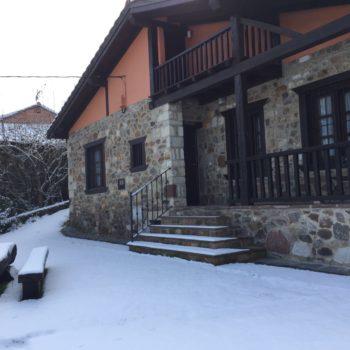 Nieve casa rural 7 2018